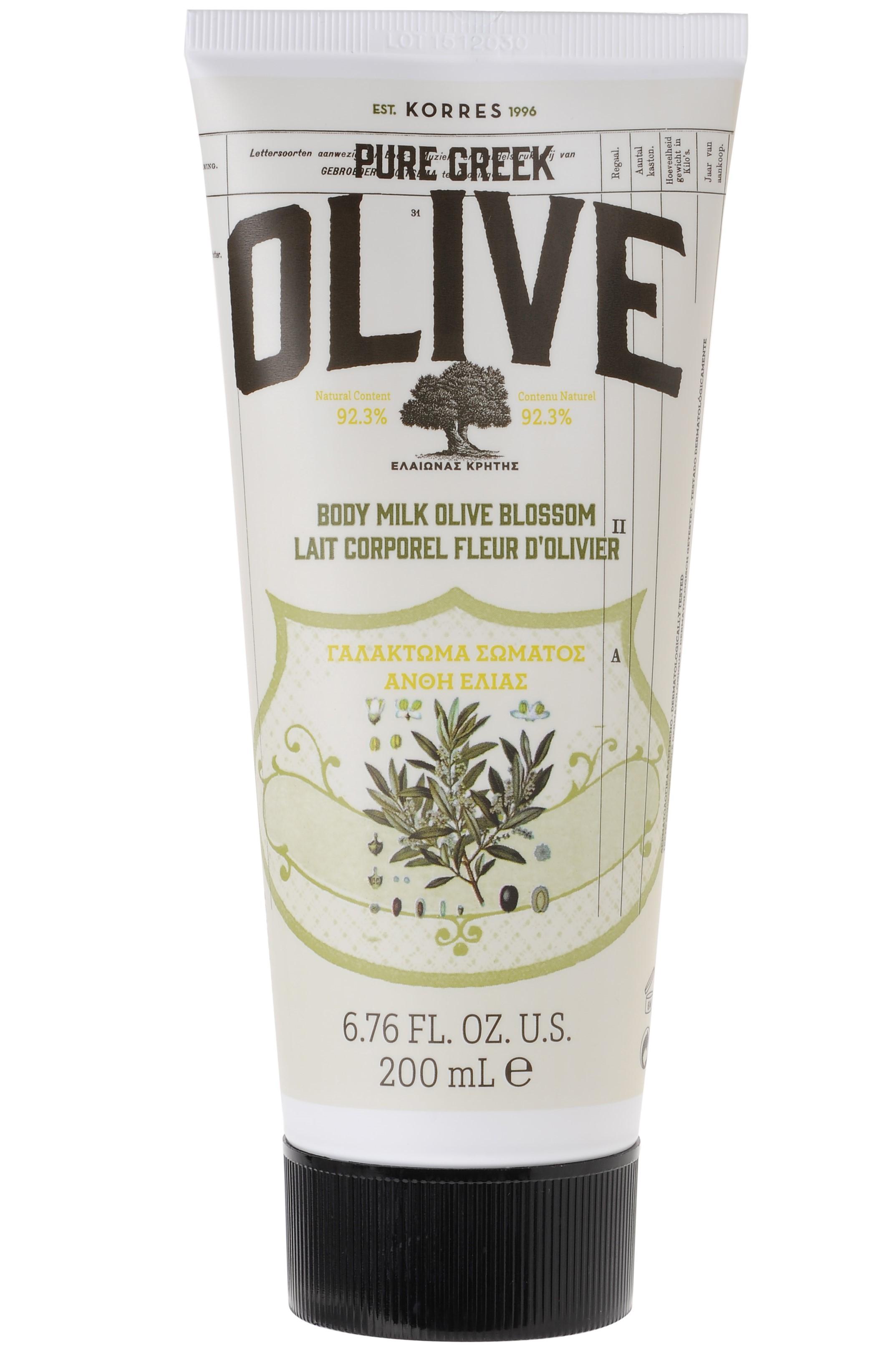 Lait corps Olive & Fleur d'Olivier