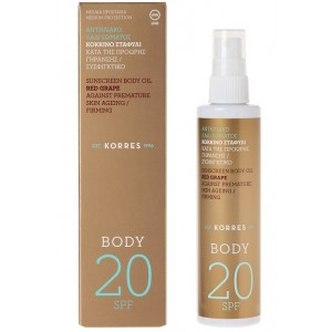 Huile solaire corps SPF20
