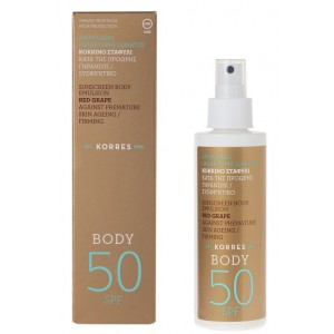 Spray solaire corps SPF 50 anti-taches brunes