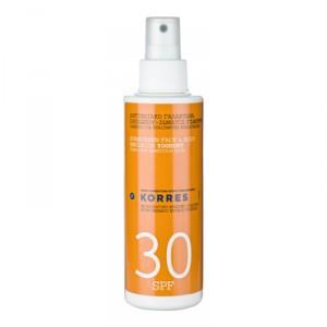Emulsion solaire SPF30, visage & corps