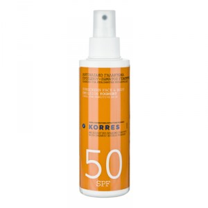 Emulsion solaire SPF50,  visage & corps