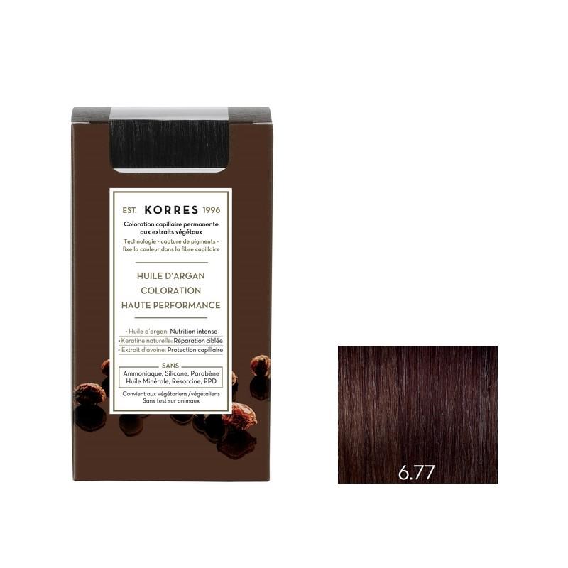 coloration permanente 677 blond fonc marron intense - Coloration Sans Ppd