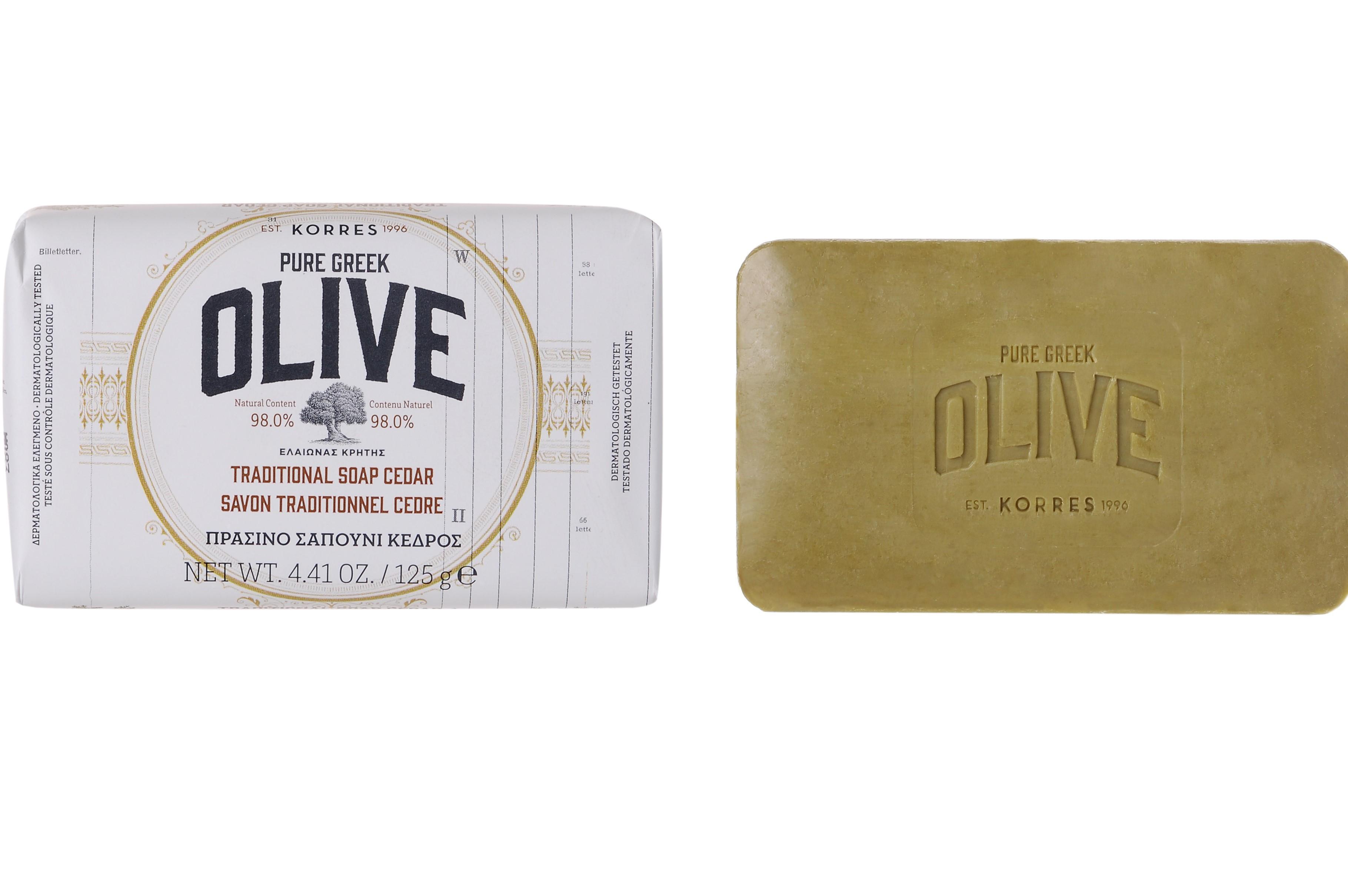Savon Olive & Cèdre