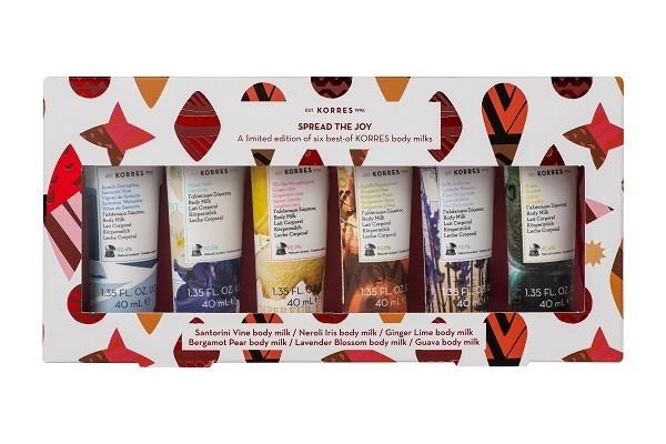 Coffret Best-seller 6 laits corps format voyage