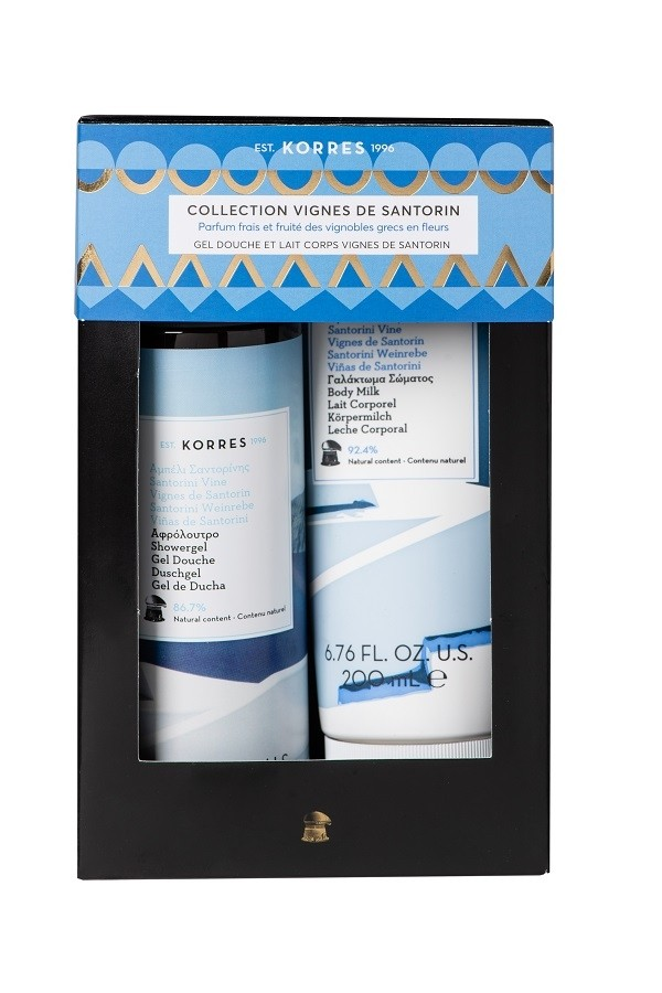 Coffret Soins corps hydratants Santorin