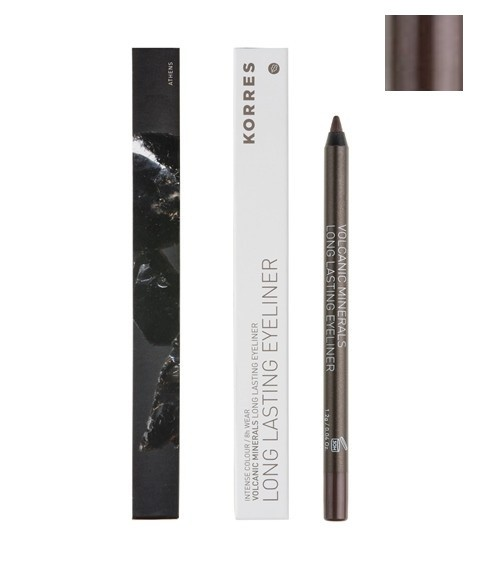 Eyeliner regard intense, longue tenue 02 BROWN