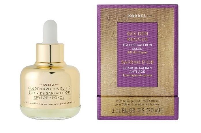 Elixir de Safran anti-âge pour le visage