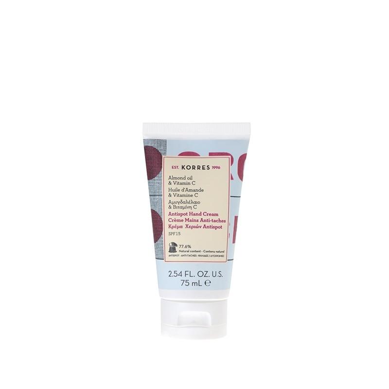 Crème mains hydratante, anti-taches, SPF15