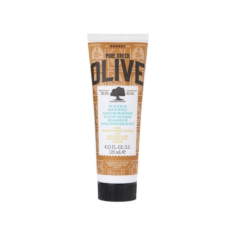 Masque capillaire Nutrition Olive