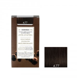 Coloration permanente 4.77 Chatain Naturel Marron Intense