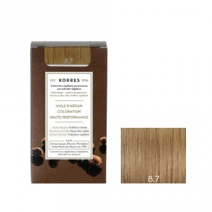 Coloration Permanente 8.7 blond clair marron