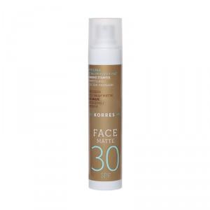 Crème solaire visage SPF30 matifiante & anti-taches brunes