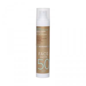 Crème solaire visage SPF50 matifiante & anti-taches brunes