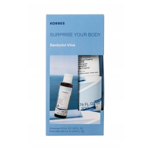 Coffret Surprise your body - Santorin