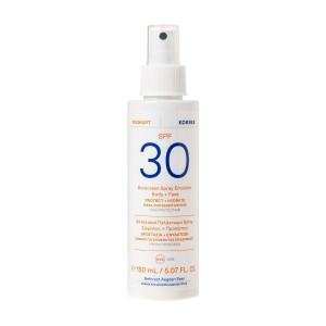 Spray Émulsion Solaire Visage & Corps YAOURT SPF30