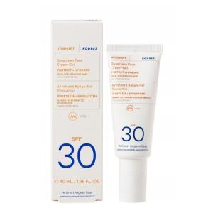 Crème-Gel Solaire Visage YAOURT SPF30