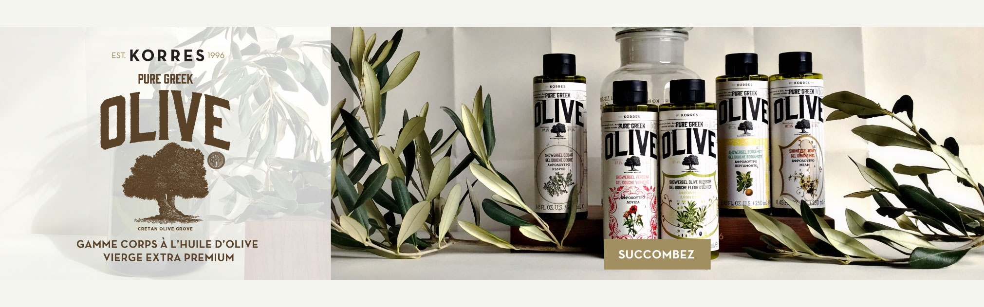 Gamme olive